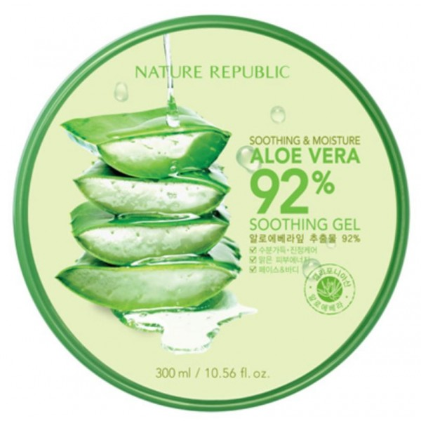 Soothing & Moisture Aloe Vera 92% Soothing Gel  [NATURE REPUBLIC]