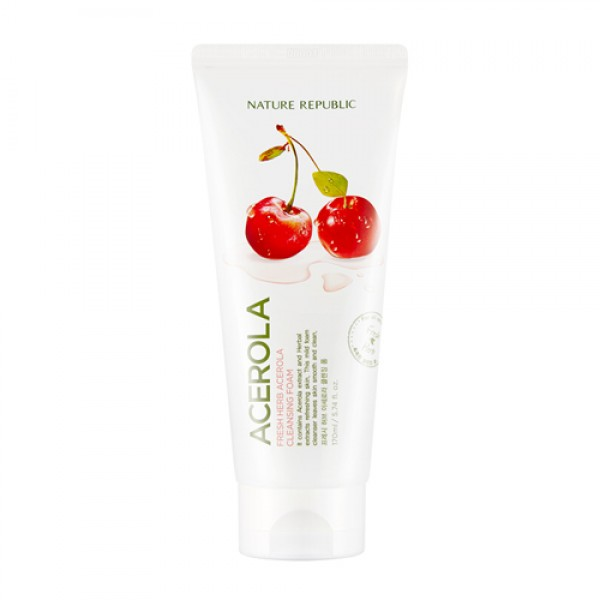 FRESH HERB ACEROLA CLEANSING FOAM [NATURE REBUBLIC]