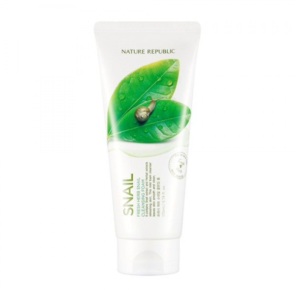 FRESH HERB SNAIL CLEANSING FOAM [NATURE REBUBLIC]