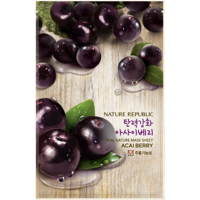 Acai Berry Face Mask Nature Republic