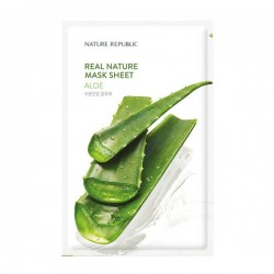 Real Nature Mask Sheet - ALOE [NATURE REPUBLIC]