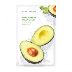 Real Nature Mask Sheet - AVOCADO  [NATURE REPUBLIC]