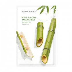 Real Nature Mask Sheet - BAMBOO [NATURE REPUBLIC]