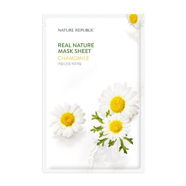 Real Nature Mask Sheet - Chamomile [NATURE REPUBLIC]