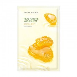 Real Nature Mask Sheet - ROYAL JELLY [NATURE REPUBLIC]
