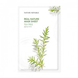 Real Nature Mask Sheet - TEA TREE [NATURE REPUBLIC]