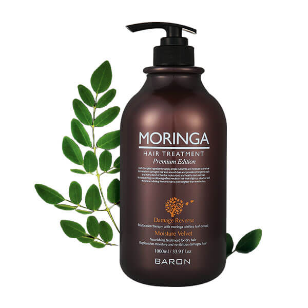 MORINGA Hair Treatment Premium Edition - 1000ml (33.9 fl oz)