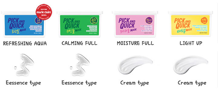 Pick and Quick Sheet Mask