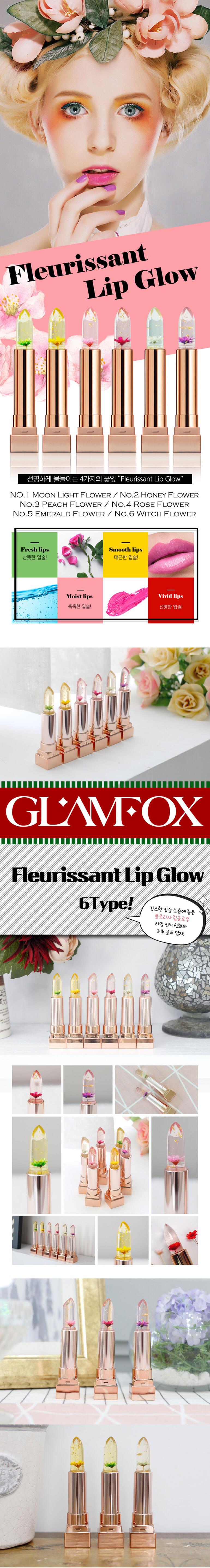 glamfox Fleurissant Lip Glow